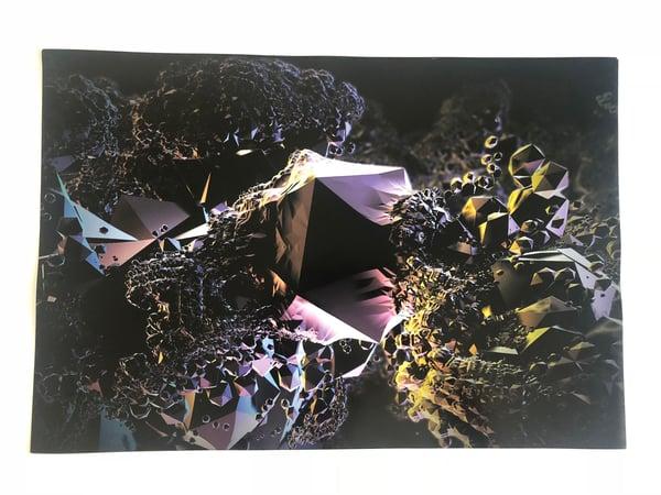 Image of Icosahedron print