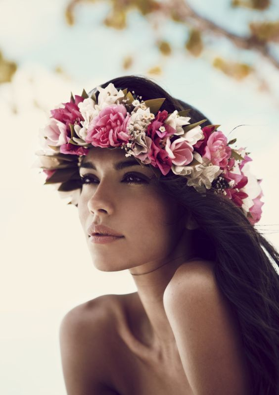 Image of Bohemian angel hair accessories