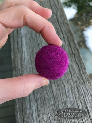 Image of Alpaca Cat Ball Kitty Toy with Bell Wool Fiber Cat Toy