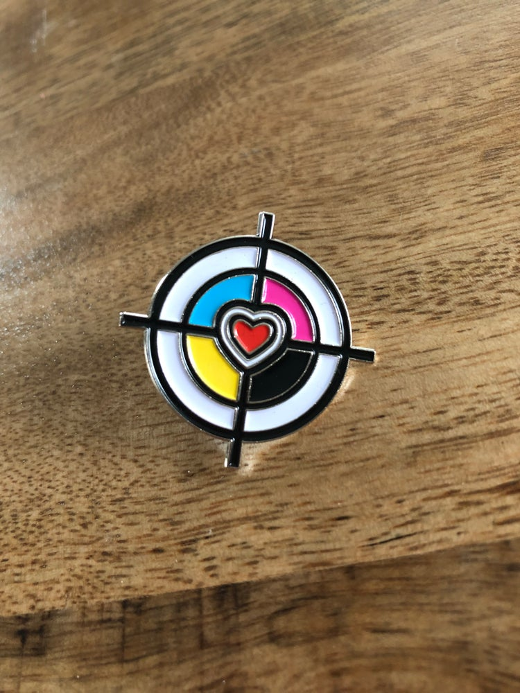 Image of Registration Mark Heart PIN