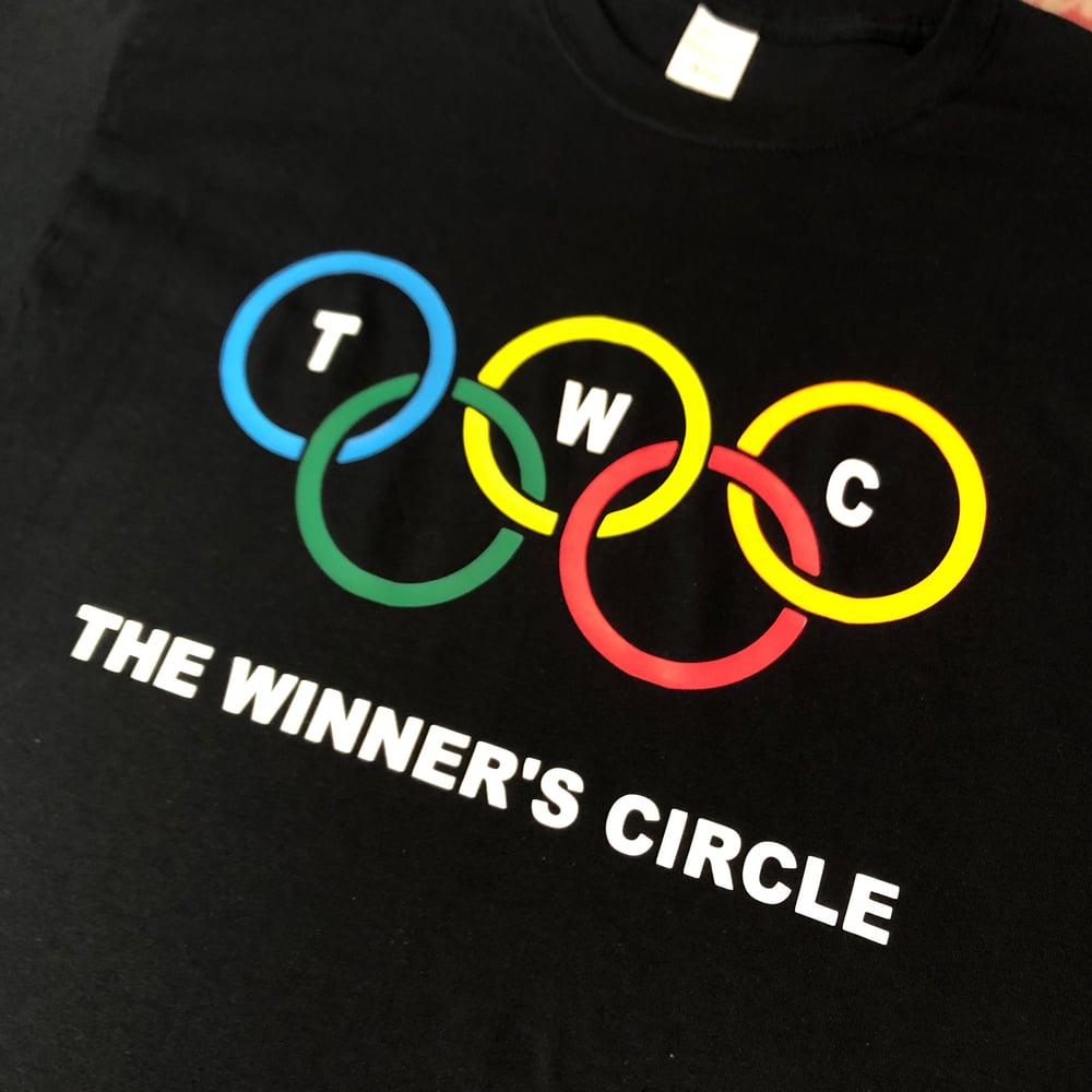 """Image of The Winner's Circle """"Rings"""" Tee - Black"""