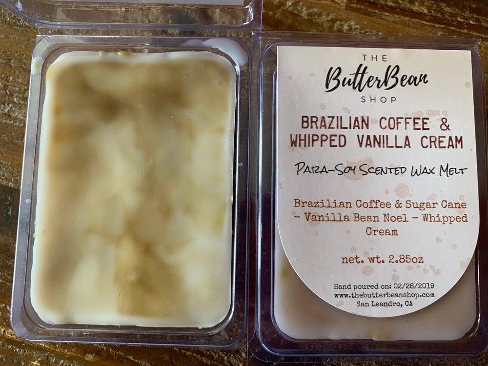 Image of Brazilian Coffee & Whipped Vanilla Cream Scented Wax Melt