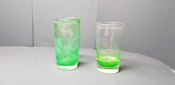 Image of Green pint glass