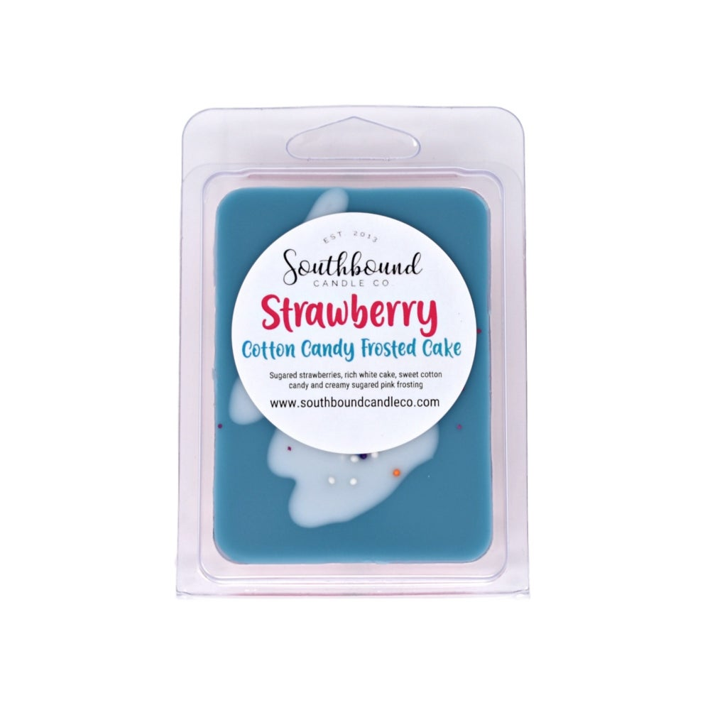 Image of Strawberry Cotton Candy Frosted Cake Wax Melts