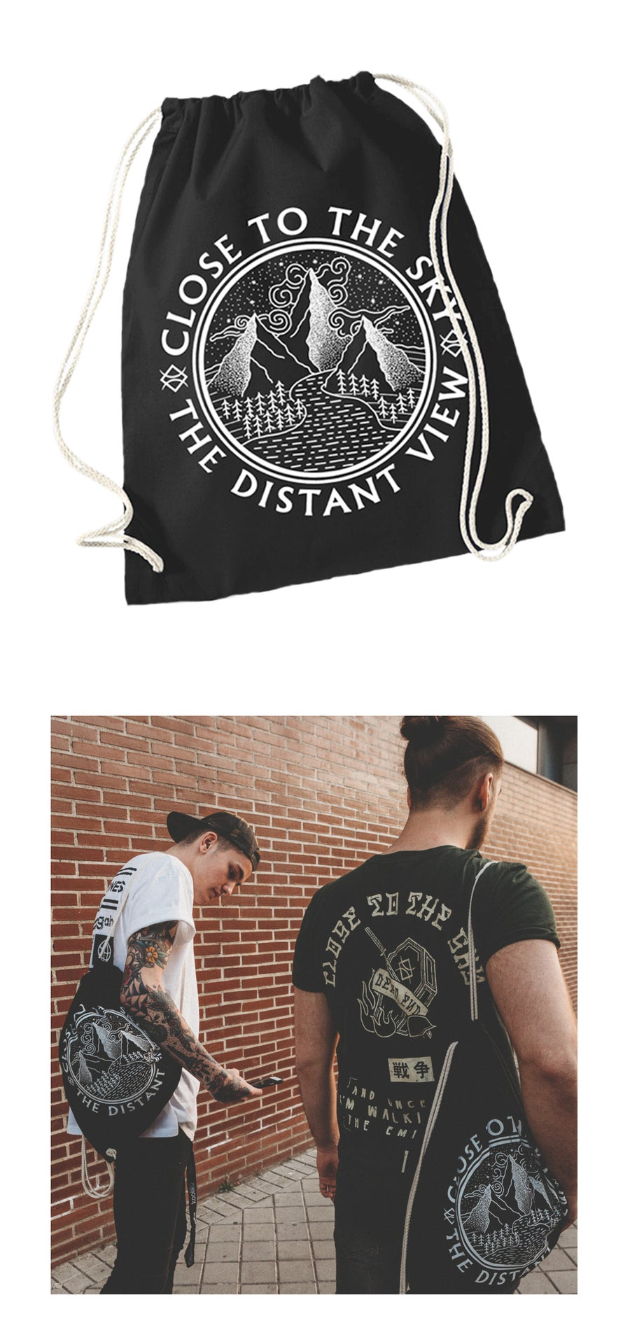 Image of The Distant View GYM backpack