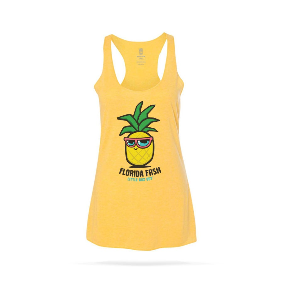 Image of Pineapple FRSH Racerback Tank