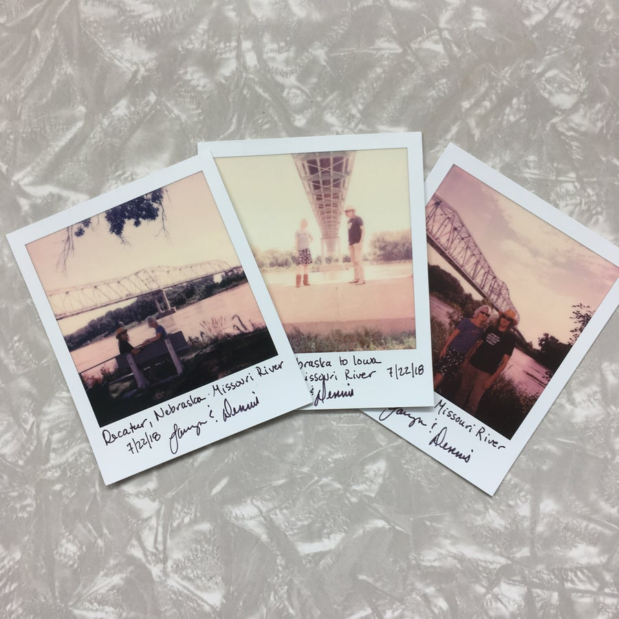 Image of Six-pack of one-of-a-Kind, Signed Polaroids