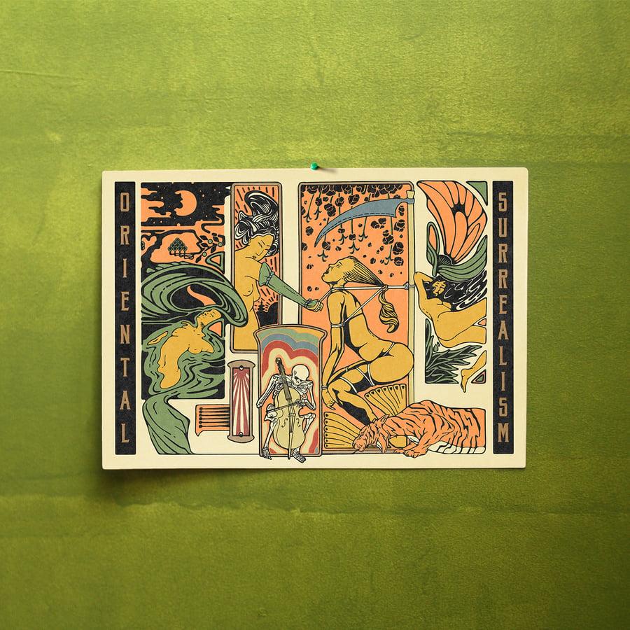 Image of Oriental Surrealism Print
