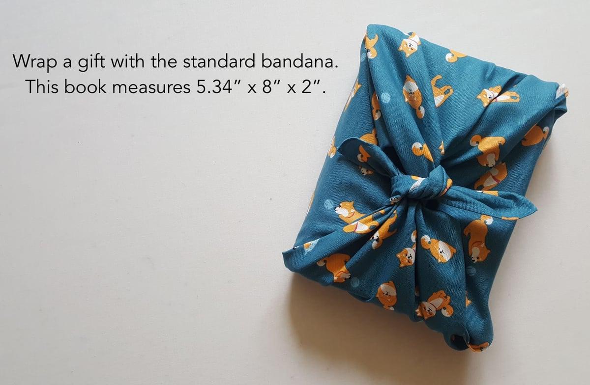 Image of Happy shiba bandana (standard)