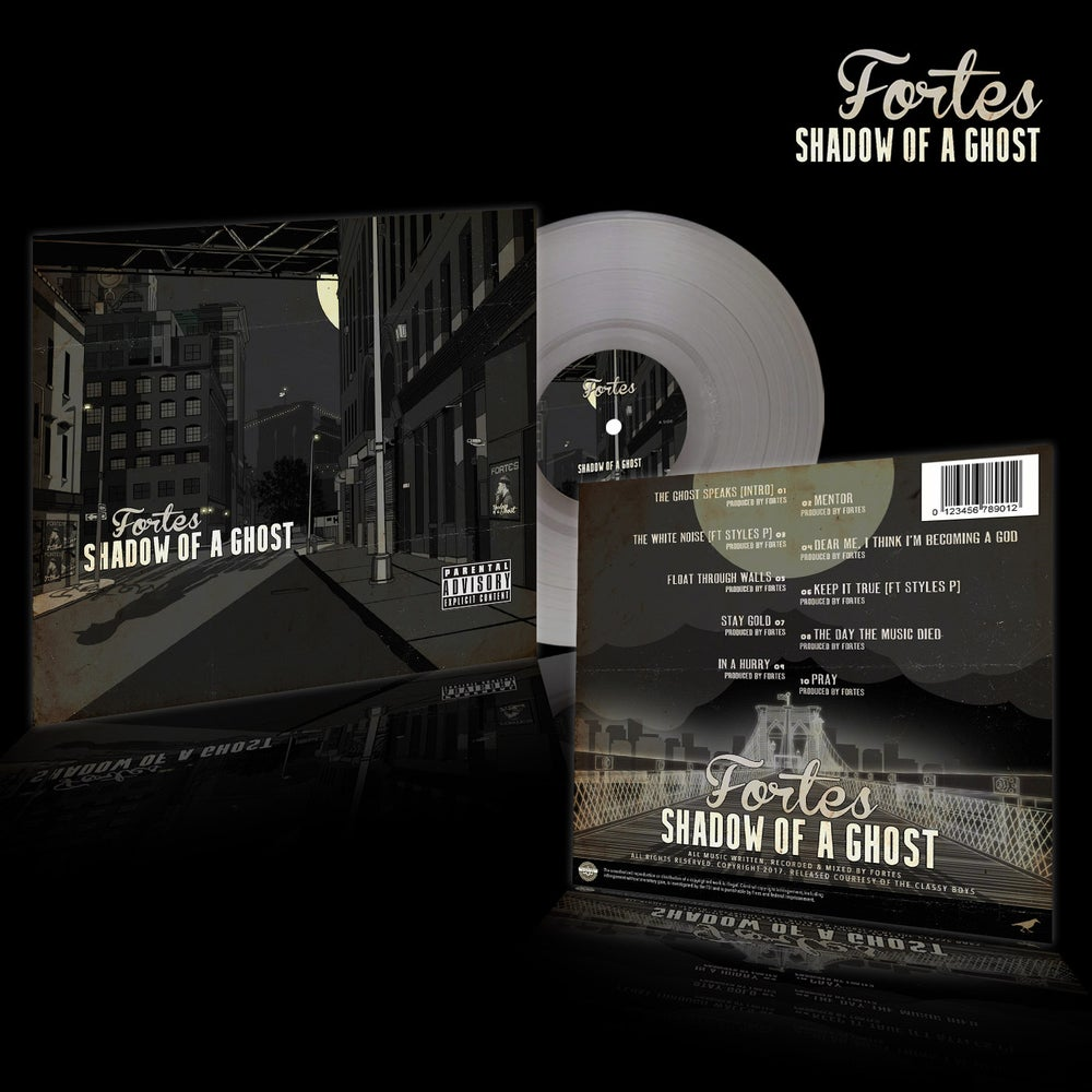 Image of Fortes - Shadow Of A Ghost (Transparent Vinyl)