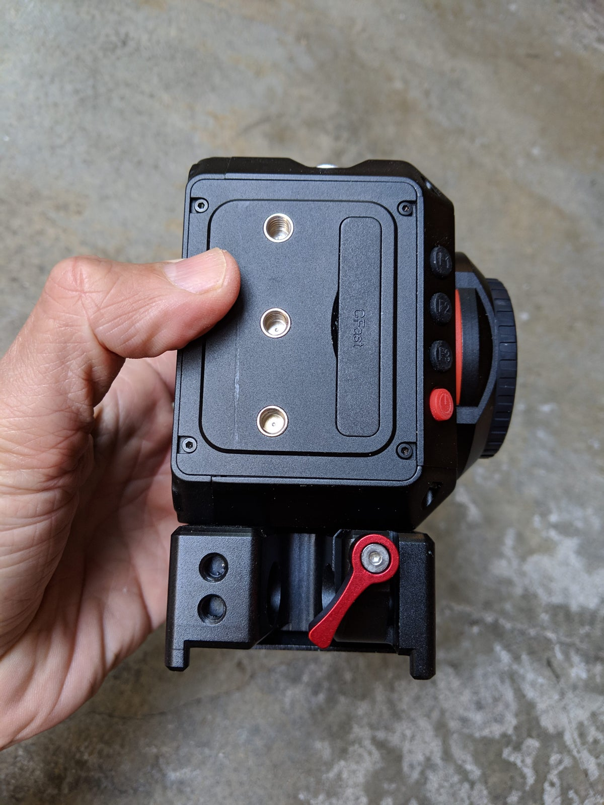Image of STOMP hybrid camera plate for E2 camera