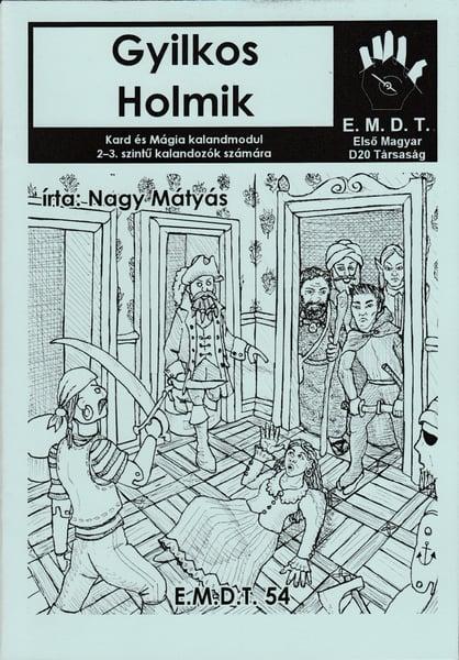 Image of Gyilkos Holmik [Hungarian]