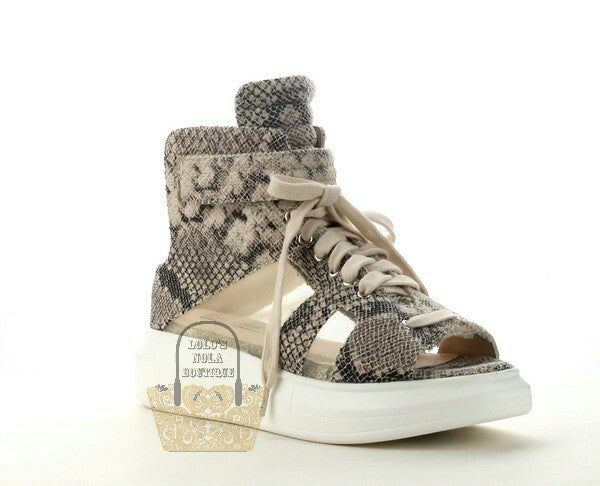 Image of Snakeskin Sneaks