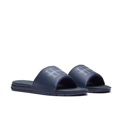 Image of SANDALIAS HUF WORLWIDE SLIDE BLUE SANDAL EN LIQUIDACION