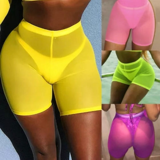 Image of Perfect Mesh Cover Shorts