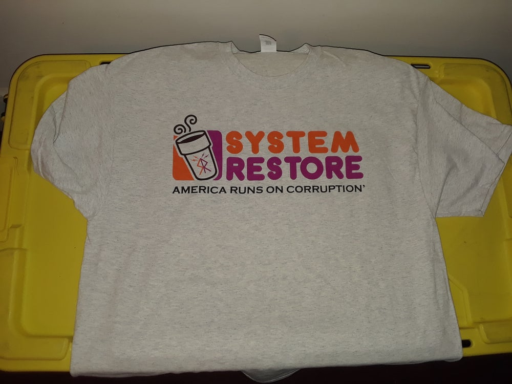 Image of System Restore Donut Shirt