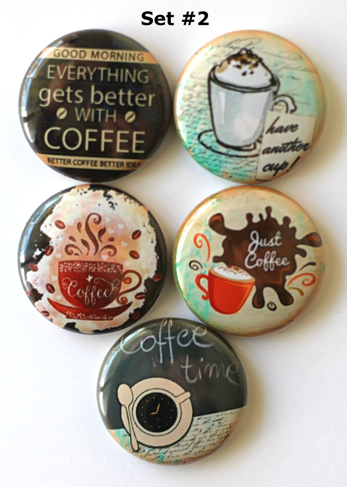 Image of Coffee & Cups Flair
