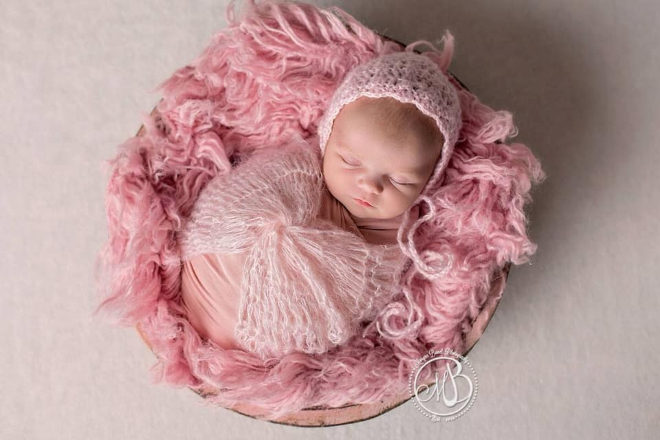 Image of Crochet Bonnet