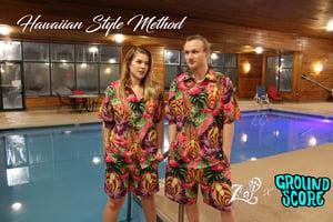 Hawaiian Style Method - Pink T-shirts