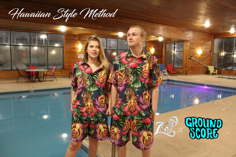 Hawaiian Style Method - Green T-shirts