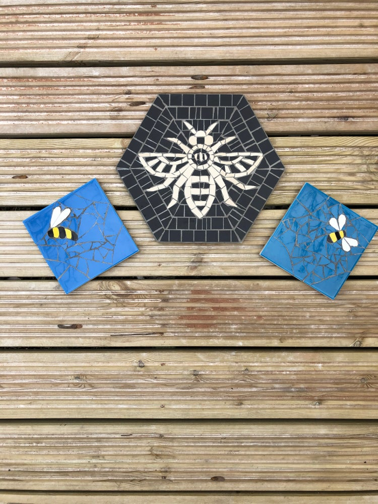Image of BLUE BEE MOSAIC
