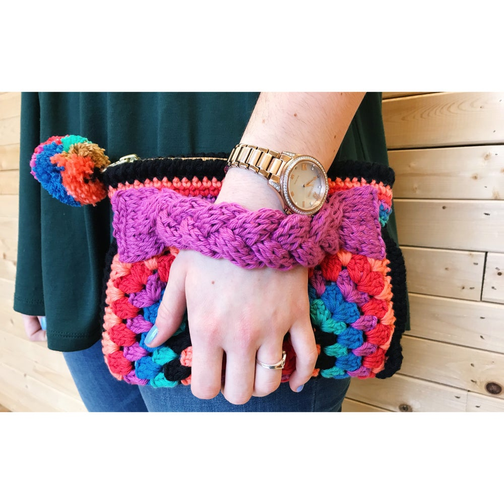 Image of Braided Clutch Hand Strap