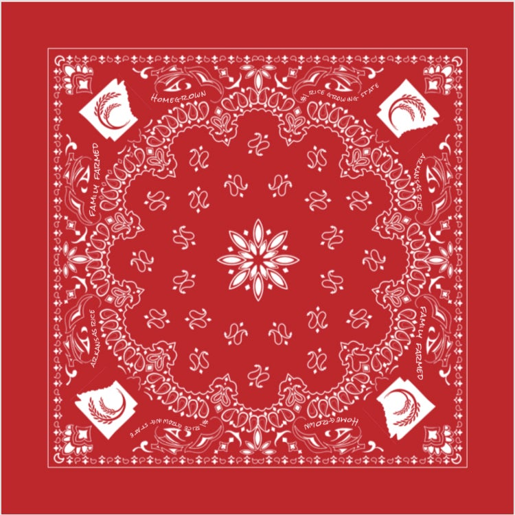 Image of Arkansas Rice Bandana