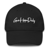 """Give Hope Daily """"dad hat"""" Black"""