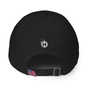 """Image of Give Hope Daily """"dad hat"""" Black"""