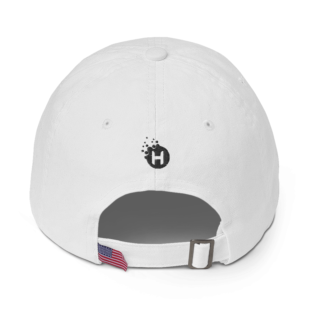 "Give Hope Daily ""dad hat"" White"