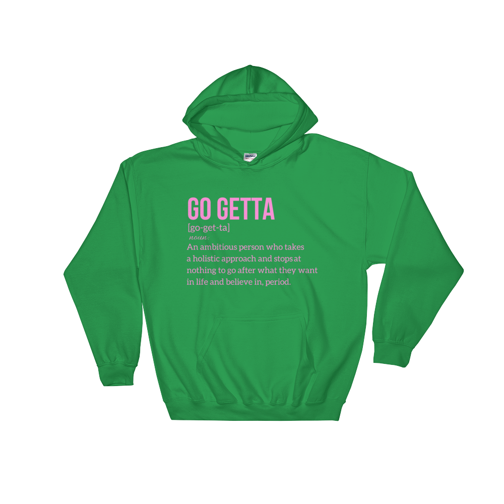 Image of Go Getta Definition Unisex Hoodie