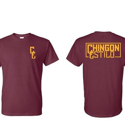 Image of C/E Classic T-shirt - Burgundy