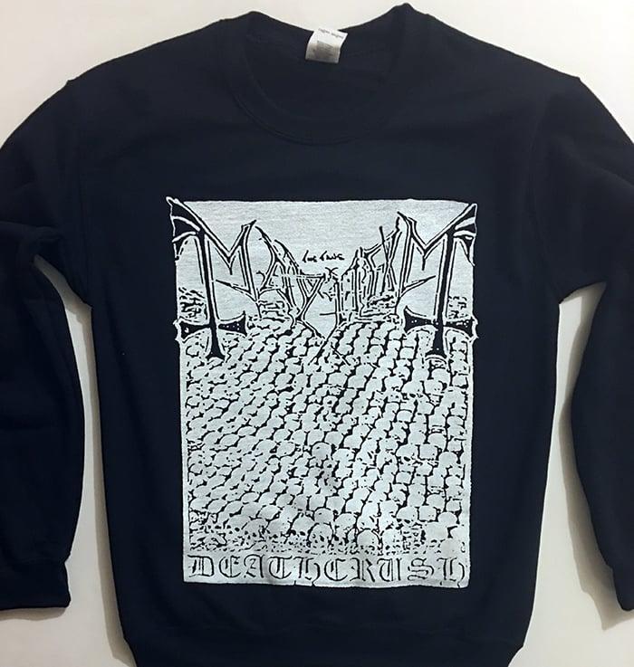 "Image of Mayhem "" Deathcrush "" Demo Sweatshirt"