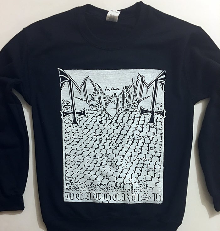 "Image of Mayhem "" Deathcrush "" Demo Sweatshirt"