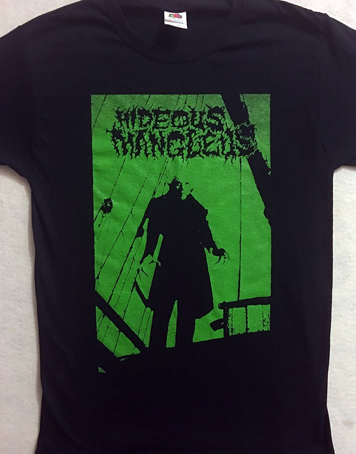 Image of  Hideous Mangleus T shirt - LAST COPIES !!!  THESE ARE OVERDUE TO BE FINISHED , PLEASE BE ADVISED