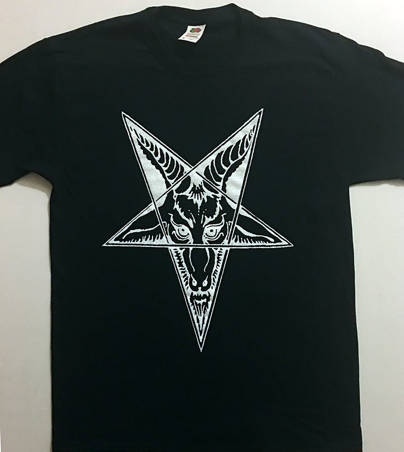 Image of Baphomet Goat Head -  T shirt