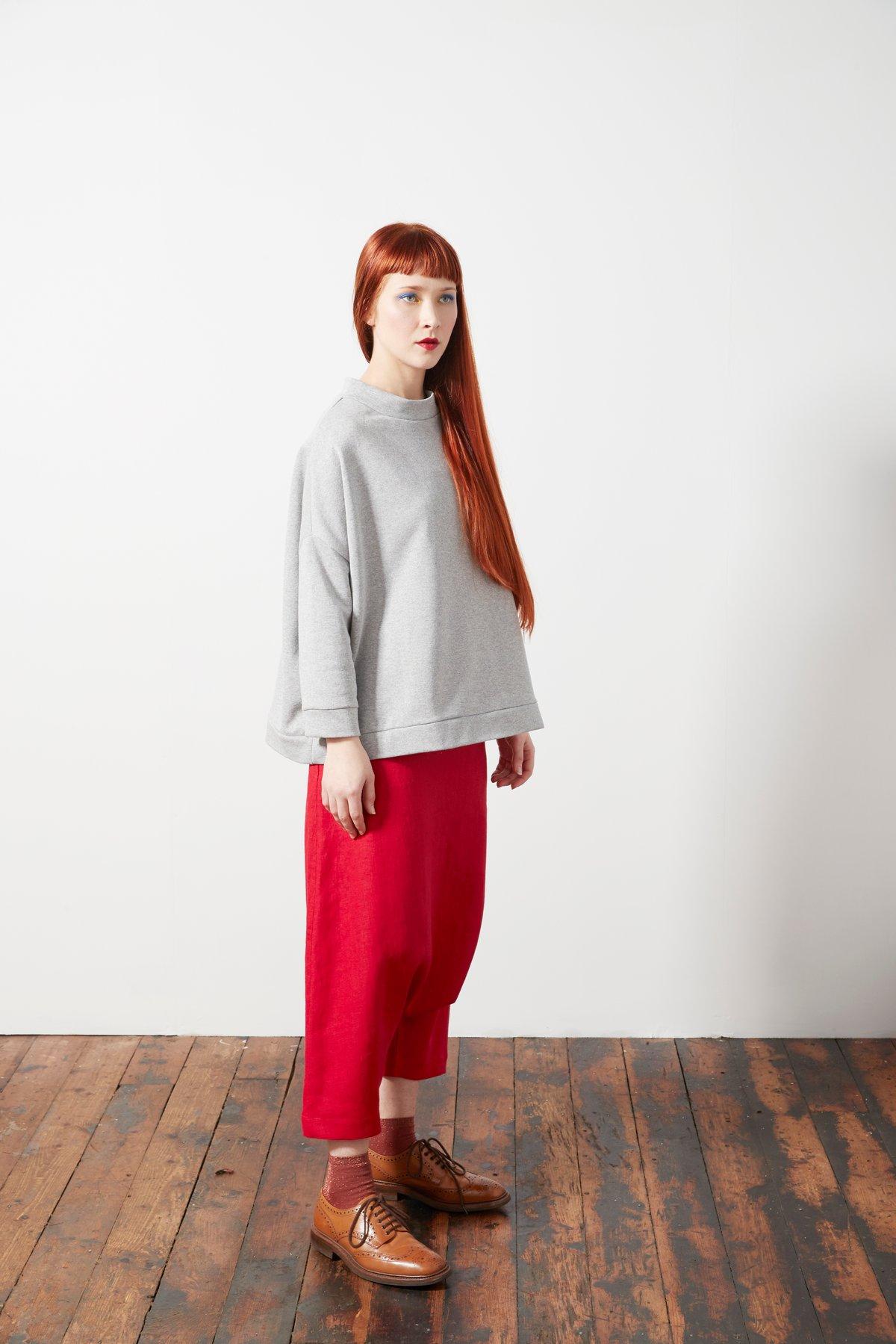 Image of Square Smock Sweatshirt