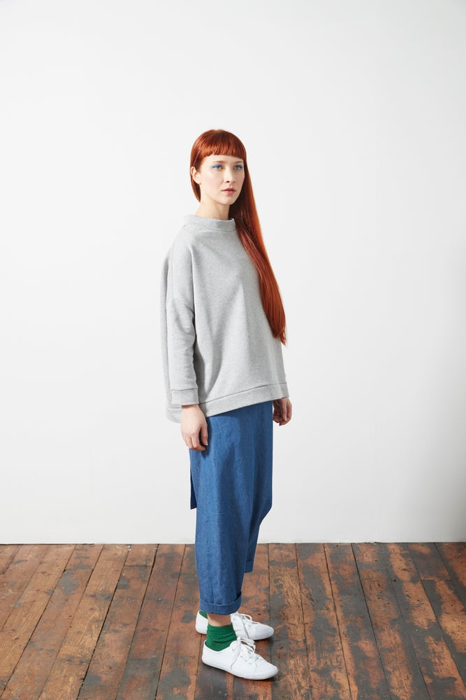 Image of Square Smock Sweatshirt
