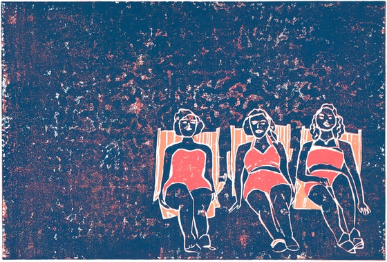 Image of Three Glorious Women Giclée Reproduction