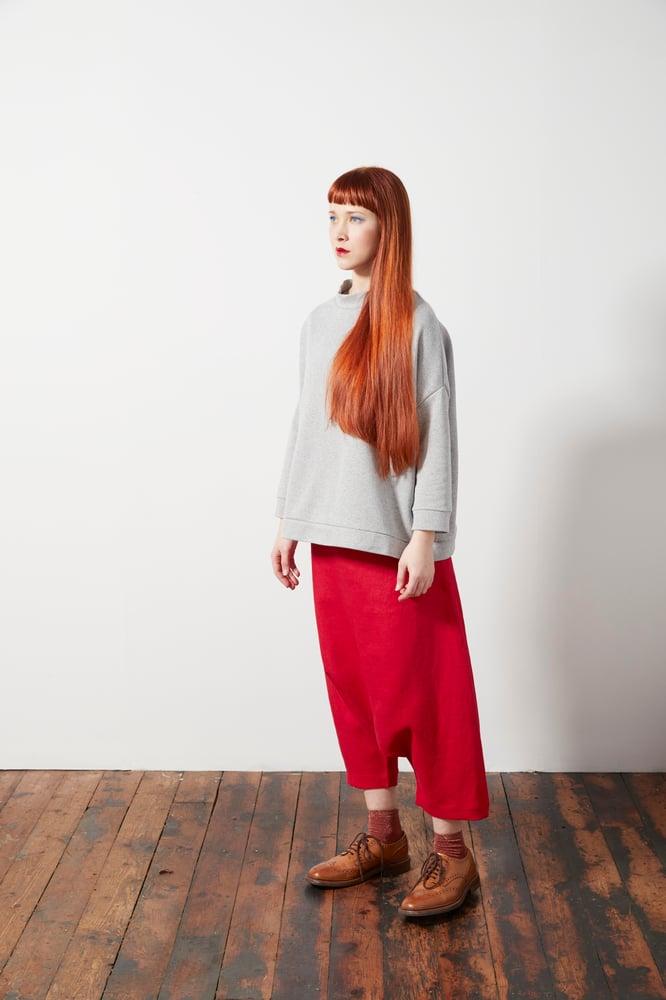 Image of Sarouel Tie Waist Trousers