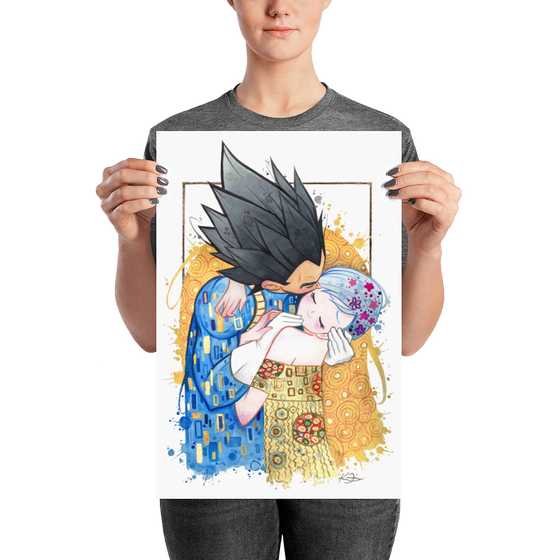Image of Vegeta and Bulma