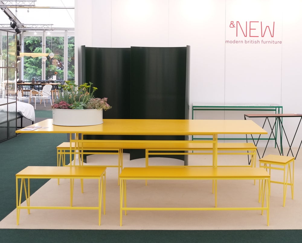 Image of Colour Play Bench long | 91 Colour Combinations