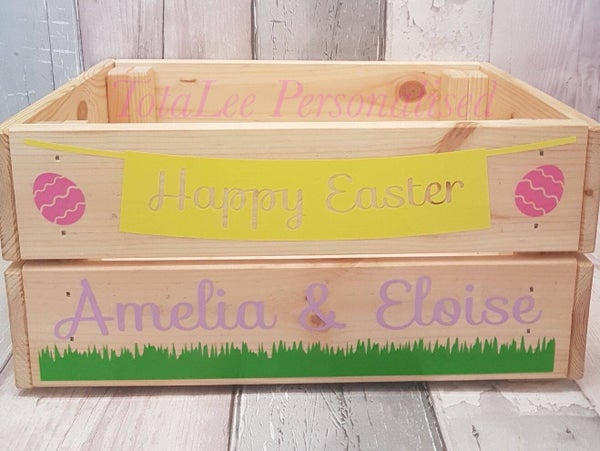 Image of Personalised Easter Crate