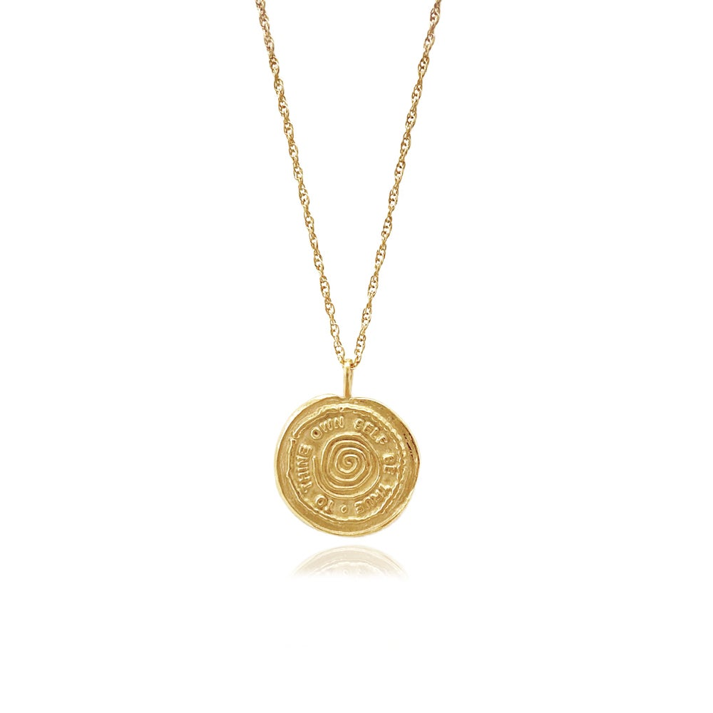 Image of Gold Talisman medallion