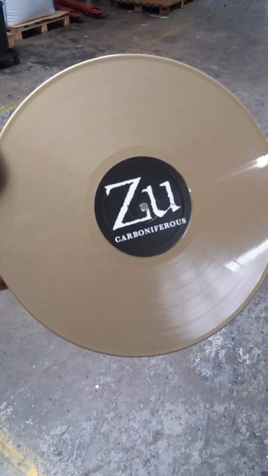 "Zu - Carboniferous - LP ""Golden Edition 10th Anniversary"""