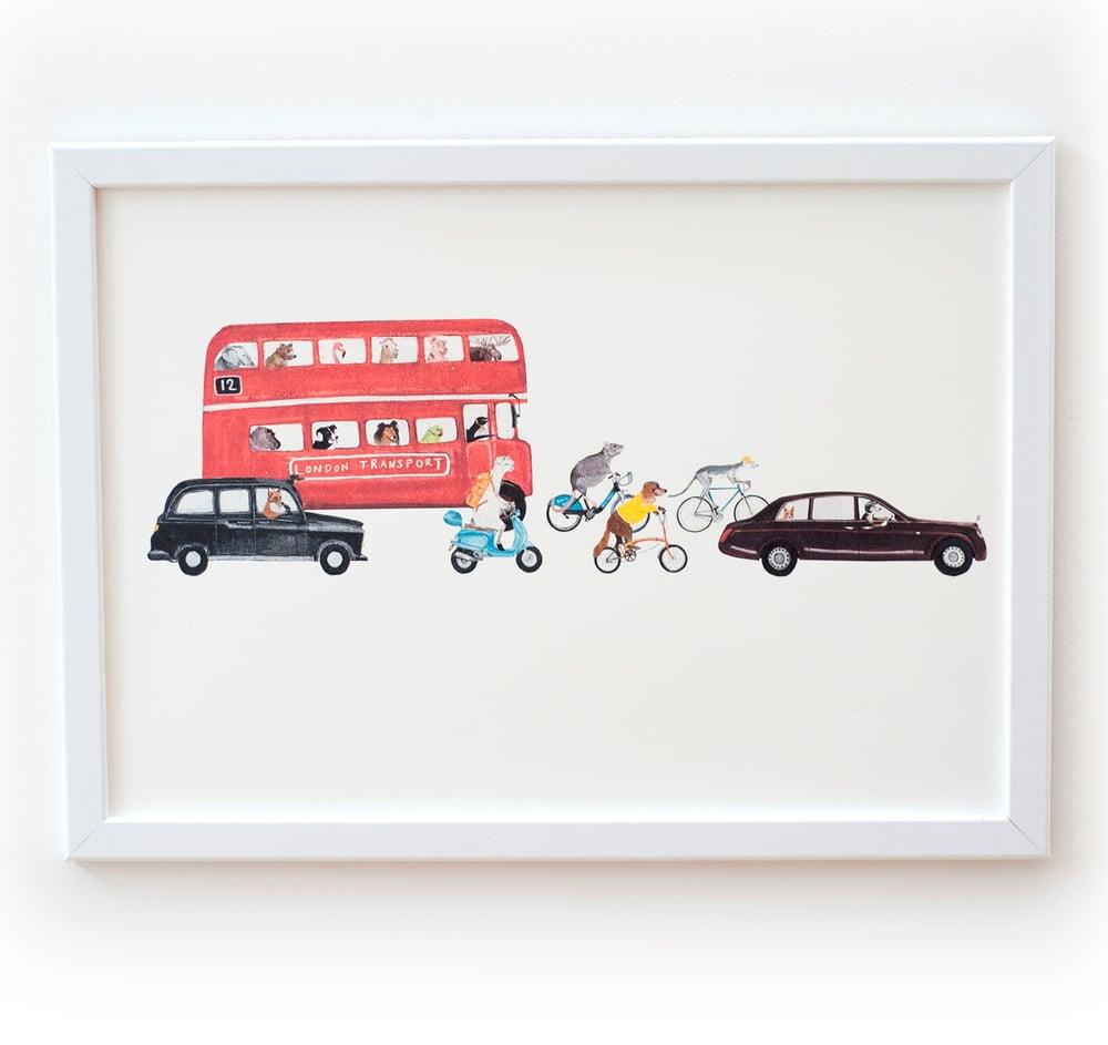 Image of London Transport Print
