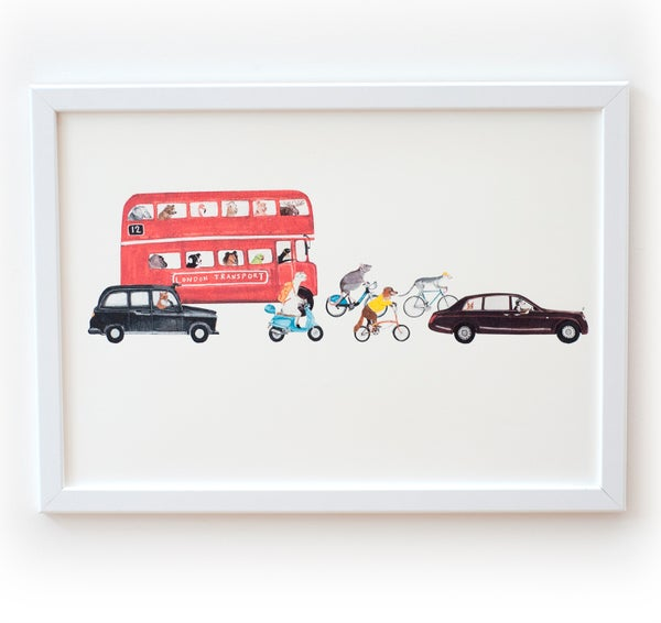 Image of London Transport Print