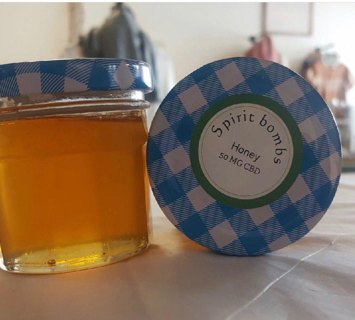 Image of 50MG CBD Honey 4oz jar