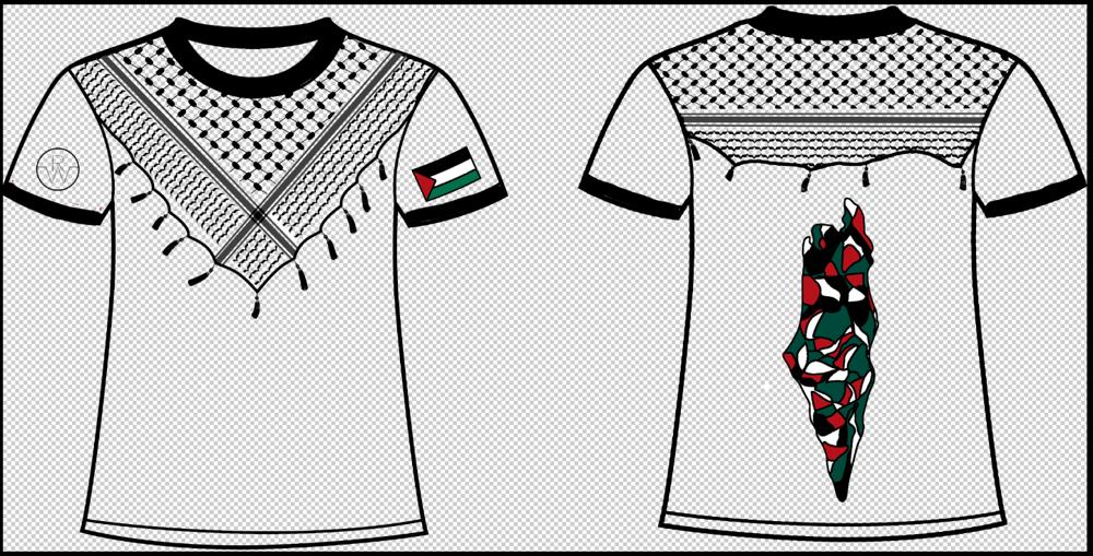 "Custom Palestinian ""Kuffiyeh""  tee"
