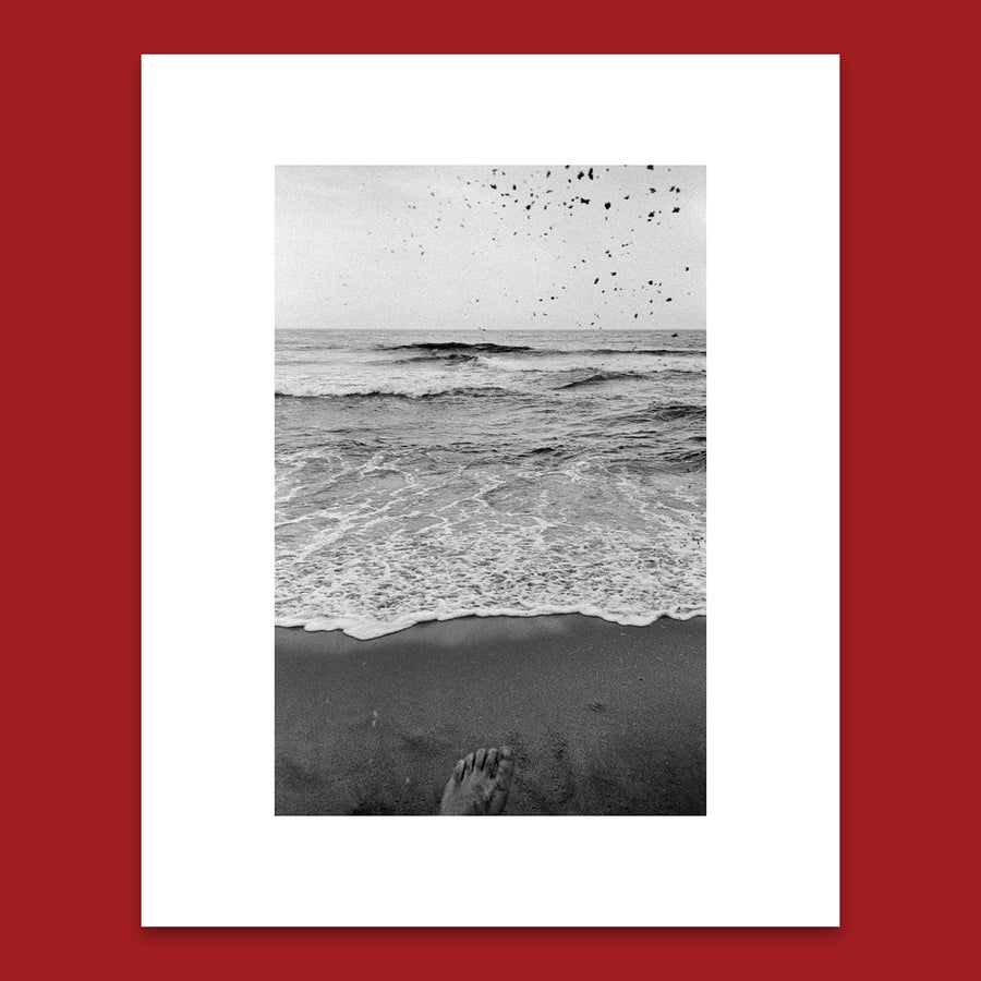 Image of 'KICKING SAND' 8X10 PRINT